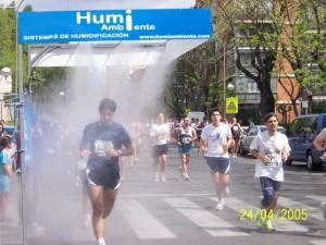 ventiladores agua eventos deportivos madrid