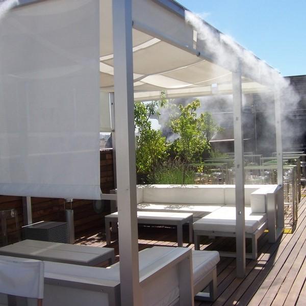 microclimas terrazas verano