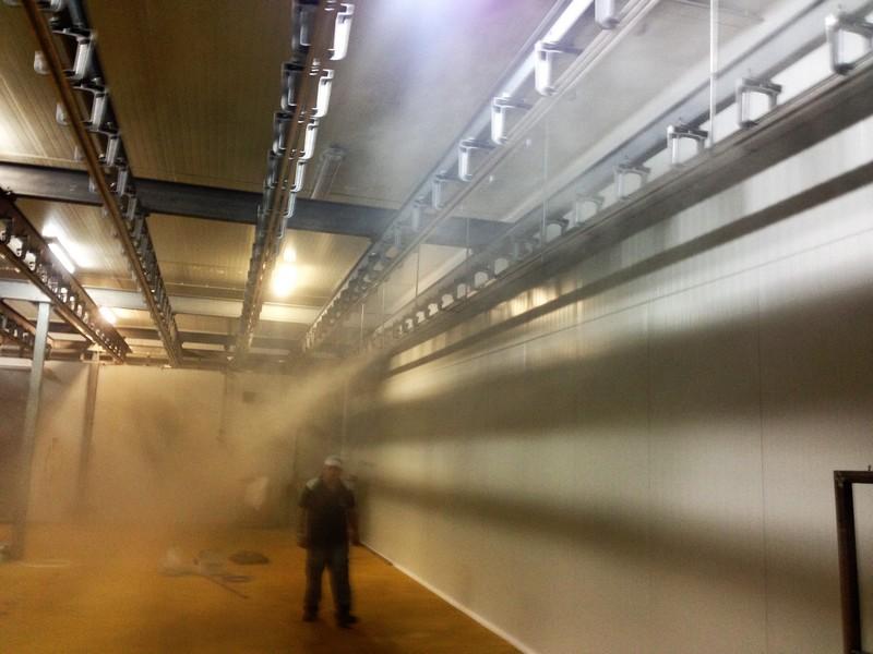 humidificación cámaras frigoríficas