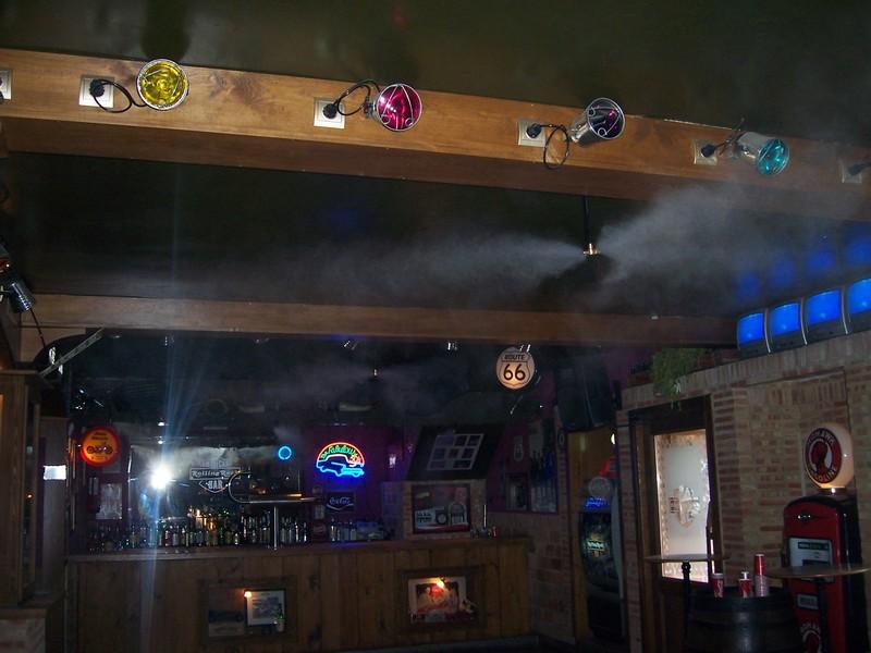 sistemas nebulizadores de agua en discotecas madrid