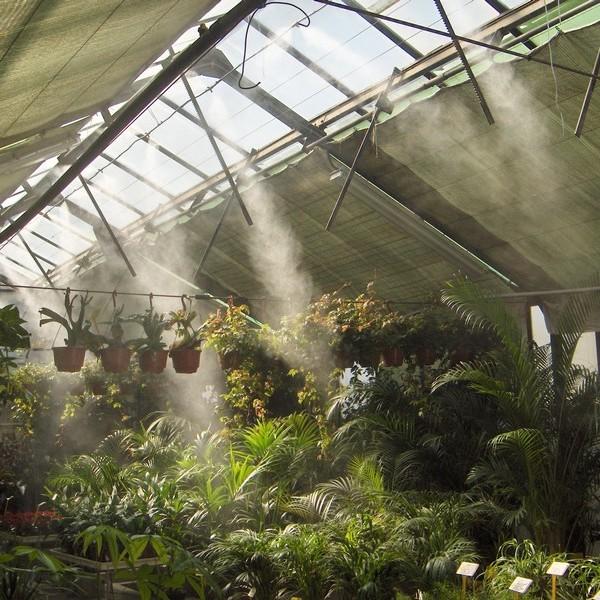 sistemas humidificación invernaderos