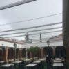 instalacion microclima la plaza de Santo Domingo