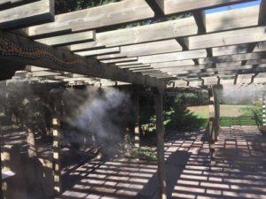 faunia nebulizacion terraza 2 300x225 - Puesta a punto nebulizacion en Faunia