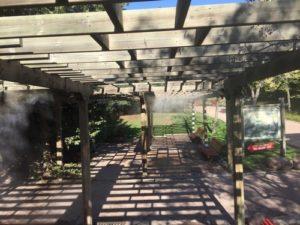 faunia nebulizacion terraza 4 300x225 - Puesta a punto nebulizacion en Faunia