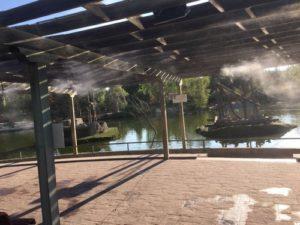 faunia nebulizacion terraza 5 300x225 - Puesta a punto nebulizacion en Faunia